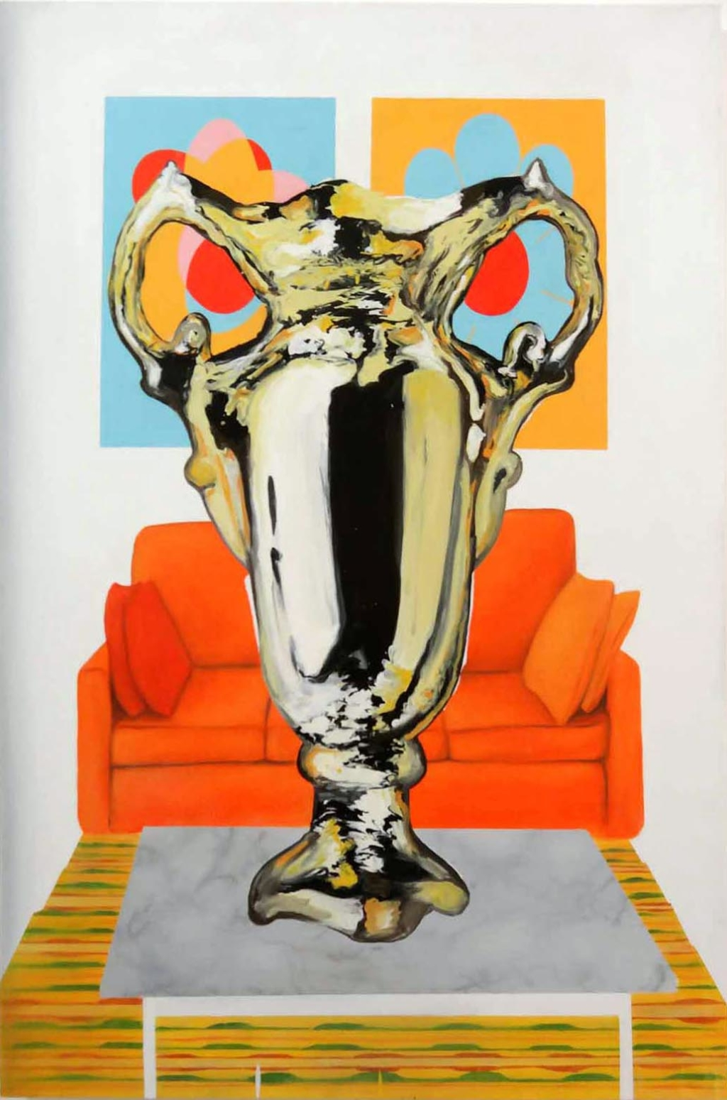 MYRIAM A. GOULET Painting Trophy Painting